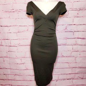 Diane Von Furstenberg Wool Bodycon Dress